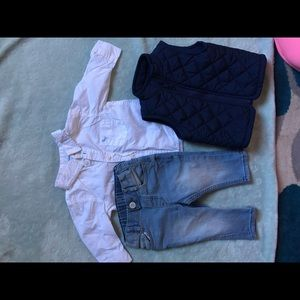 H&M baby outfit